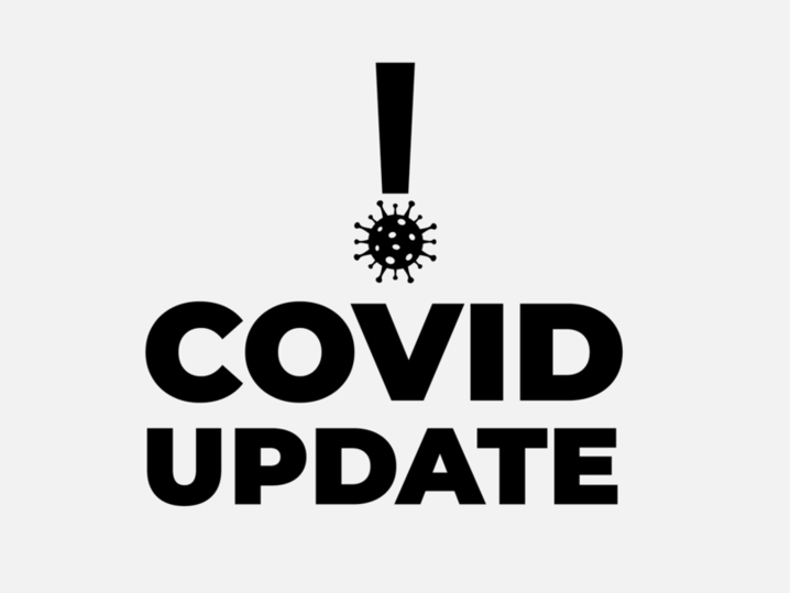 covid update exclamation mark
