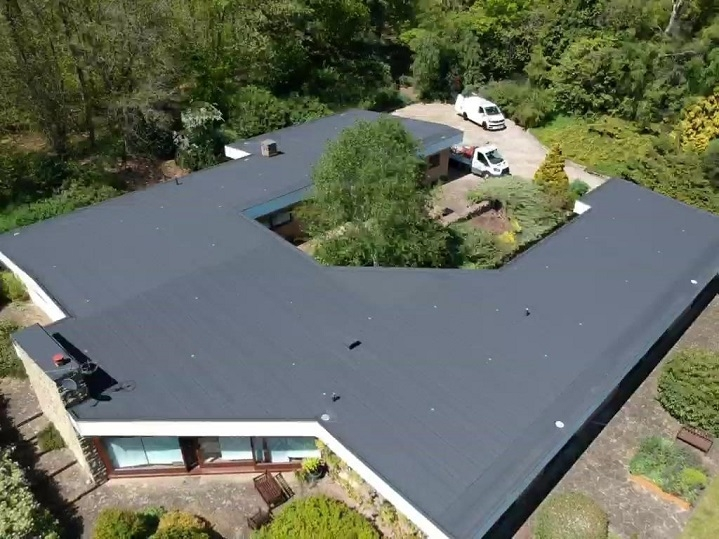 Danosa felt roof