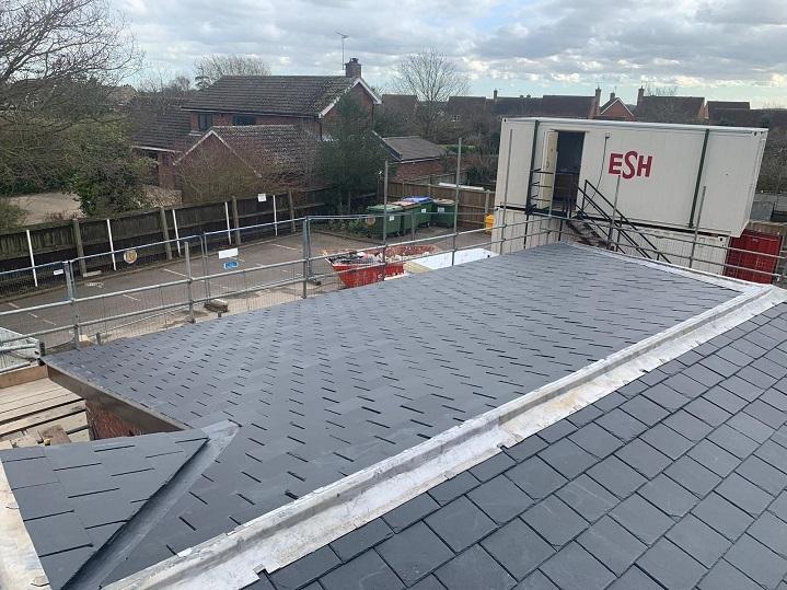 framlingham doctors surgery roof