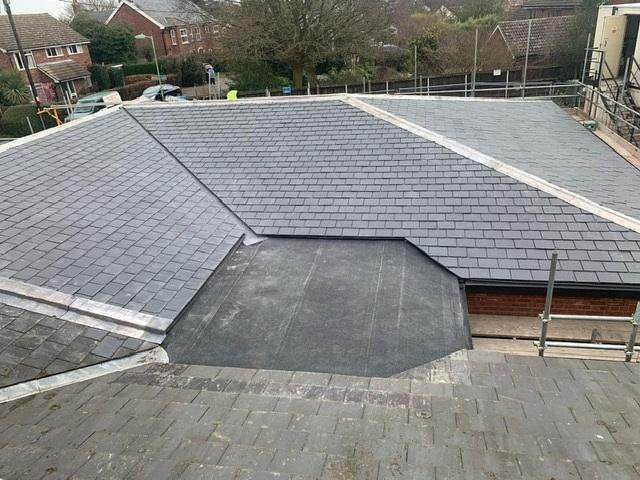 framlingham doctors surgery flat roof