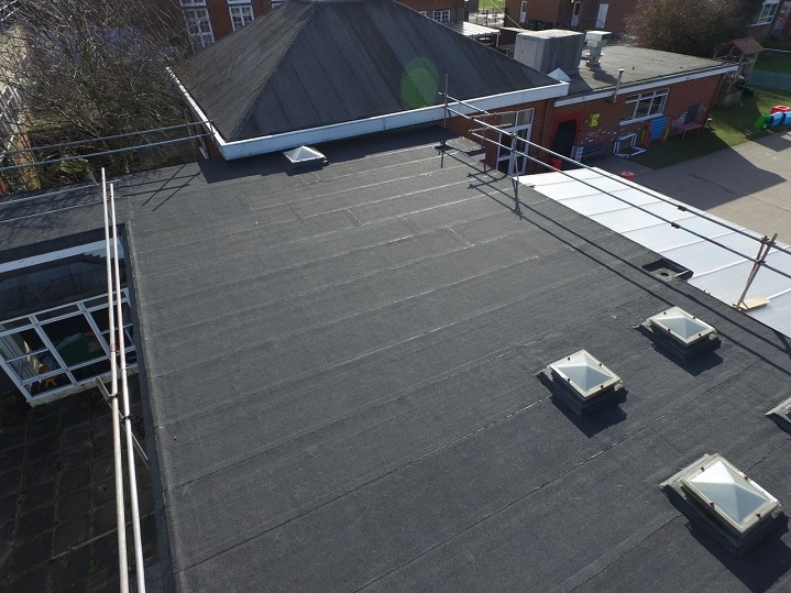 harwich school roof