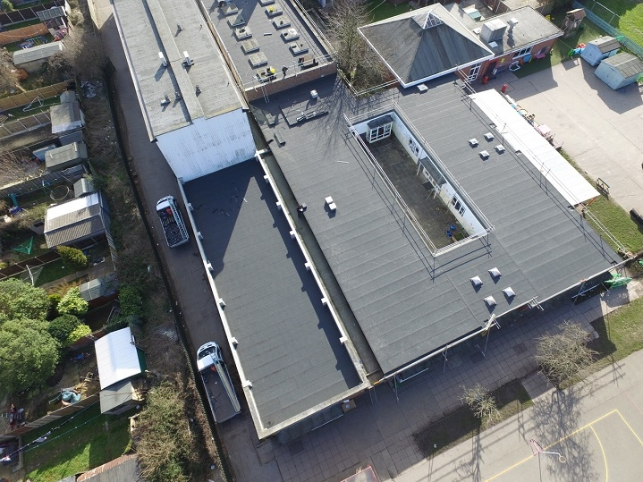 harwich school roof two