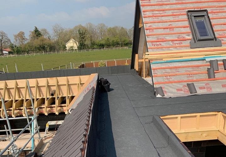 Mulbarton flat roof