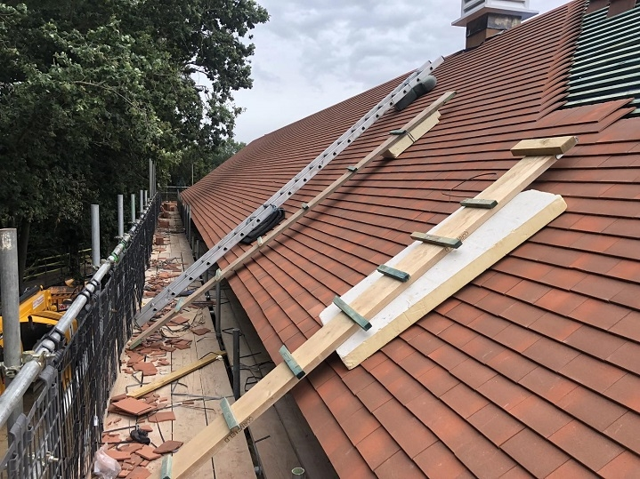 new tiles on roof in colney