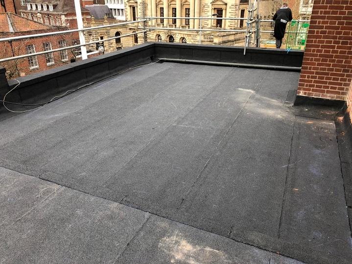 Norwich school roof back view