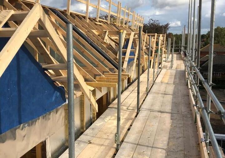 pitched roof north walsham