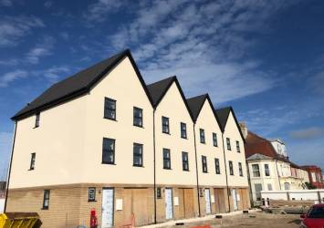 residential development new roofs in Great Yarmouth