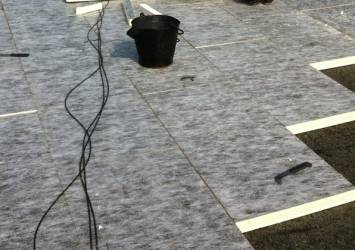 insulated flat roof