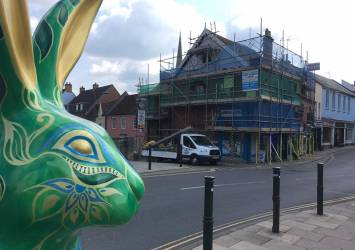 Restoration of Pitched Roof in Norwich City Centre