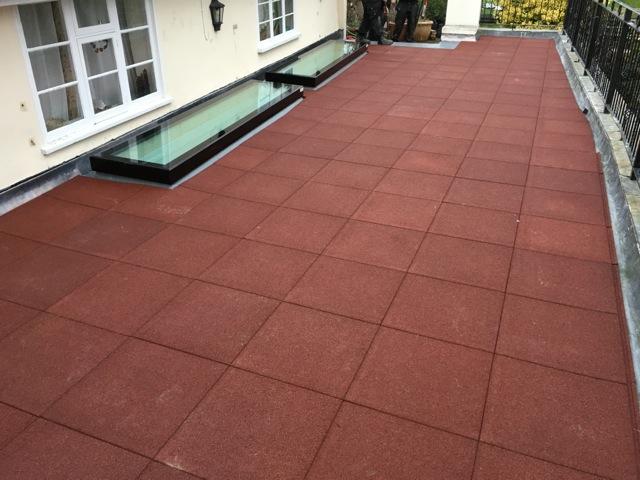 Recent rg leverett installation roof balcony renovation for Balcony renovation