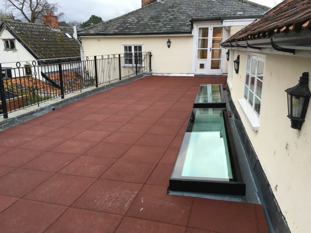 Recent Rg Leverett Installation Roof Balcony Renovation