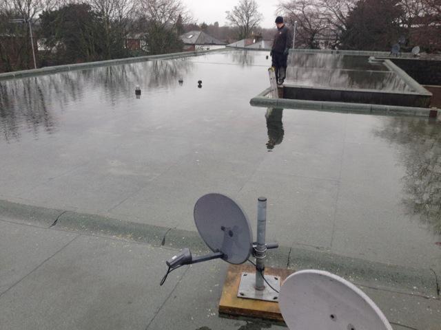 Avoiding Ponding On Your Flat Roof