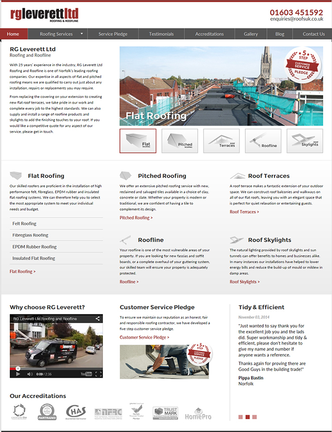 We Have Launched Our New Responsive Website