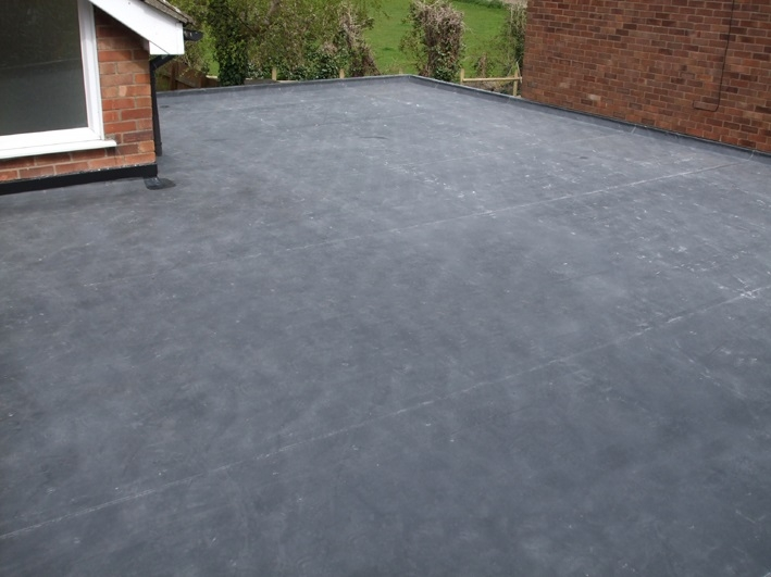Rubber roofing from RG Leverett