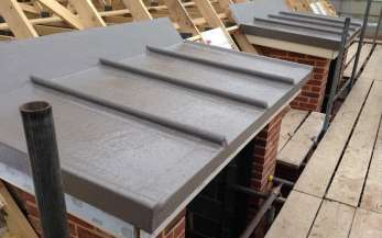 A small GRP roof