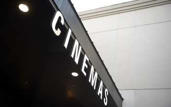 A cinema sign
