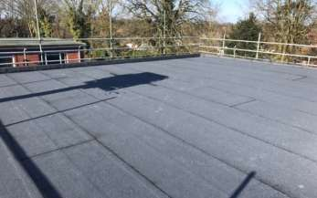 North Walsham Police Station case study - Stage 5, the finished roof