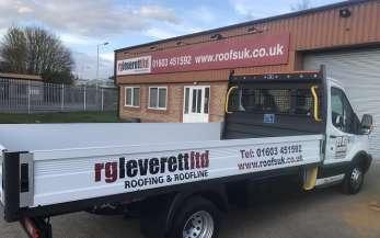 RG Leverett's new van
