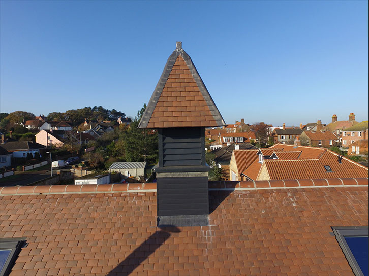 Pitched Roof for Private Residence in Sheringham